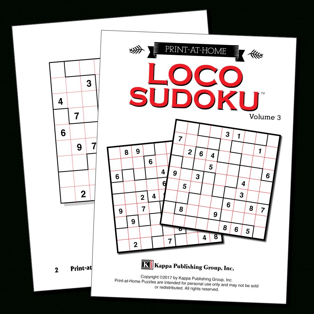 Print-At-Home Loco Sudoku – Kappa Puzzles | Printable Loco Sudoku