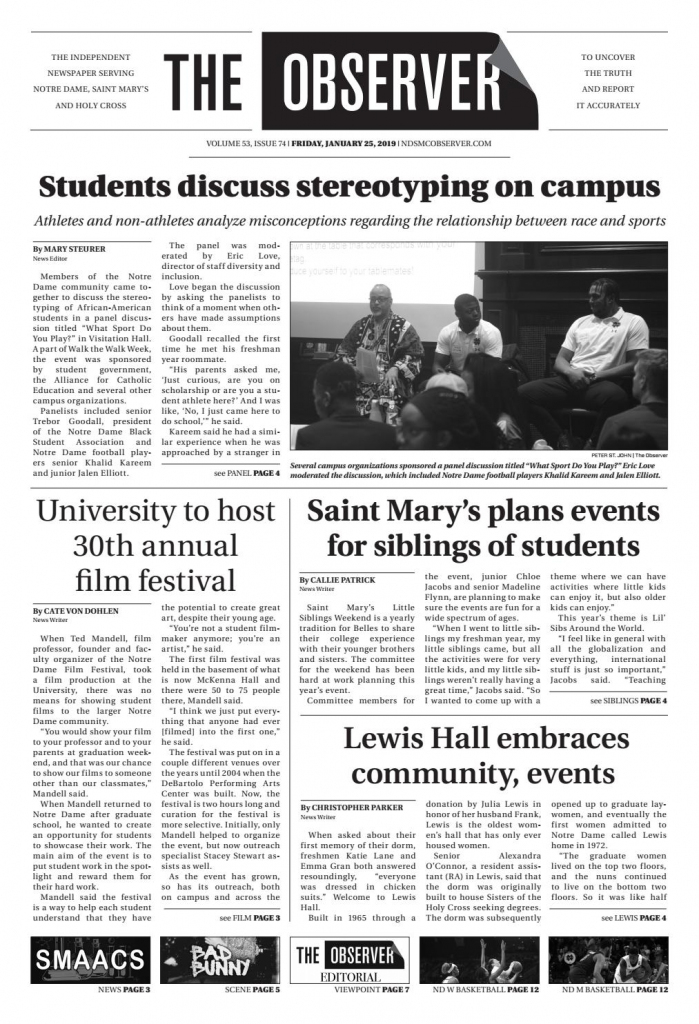 Print Edition Of The Observer For Friday, January 25, 2019The | Printable Sudoku Charlotte Observer