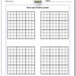 Printable Blank Sudoku Grids | Shop Fresh | Printable Blank Sudoku Pdf