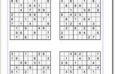 Printable Easy Sudoku | Math Worksheets | Sudoku Puzzles, Math | Printable Sheets Of Sudoku