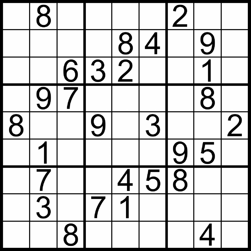 Printable Games For Adults, You Are About To Have Today   Dear Joya   Printable Sudoku For Adults