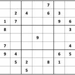 Printable Hard Sudoku | Printable   Difficult Sudoku Puzzles | Printable Giant Sudoku Puzzles