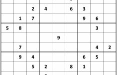 Printable Sudoku Extreme