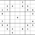 Printable Hard Sudoku | Printable   Difficult Sudoku Puzzles | Printable Sudoku Super Hard