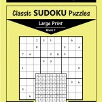 Printable Large Print Classic Sudoku Puzzles 120 Puzzles | Etsy | Printable Sudoku Book
