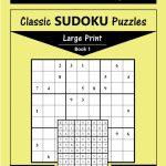 Printable Large Print Classic Sudoku Puzzles 120 Puzzles | Etsy | Printable Sudoku Books Pdf