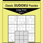 Printable Large Print Classic Sudoku Puzzles 120 Puzzles | Etsy | Printable Sudoku Level 1