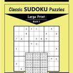 Printable Large Print Classic Sudoku Puzzles 120 Puzzles | Etsy | Printable Sudoku Paper