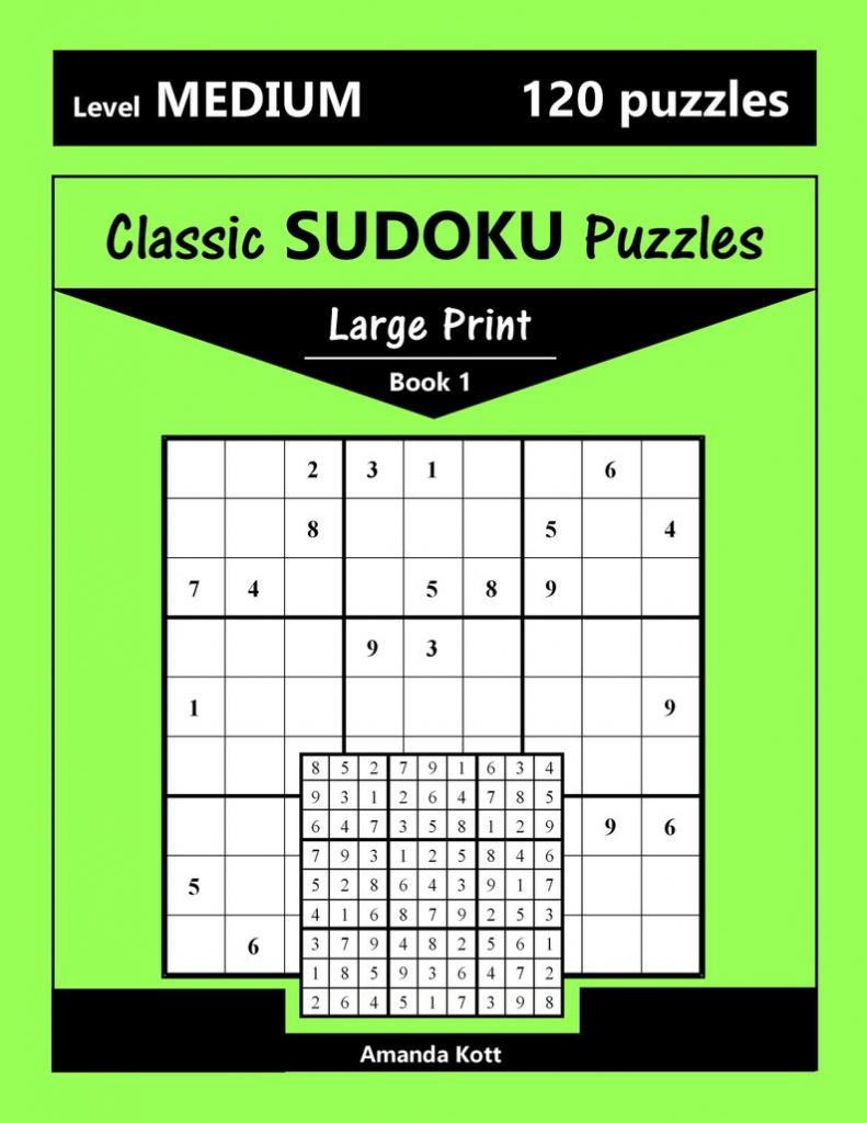 Printable Large Print Classic Sudoku Puzzles 120 Puzzles | Etsy | Printable Sudoku Uk
