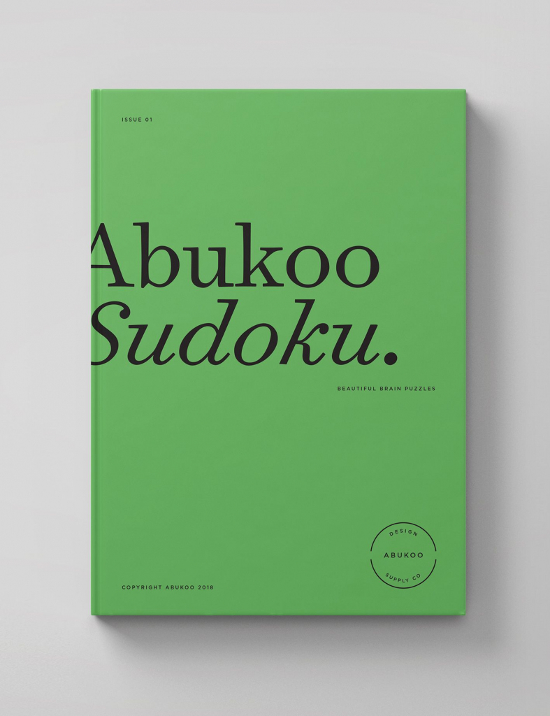 Printable Sudoku | Book | Graphic Design Books, Book Design Layout | Printable Sudoku Book