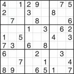 Printable Sudoku Grid   Rome.selphee.co | Printable Sudoku Four Per Page