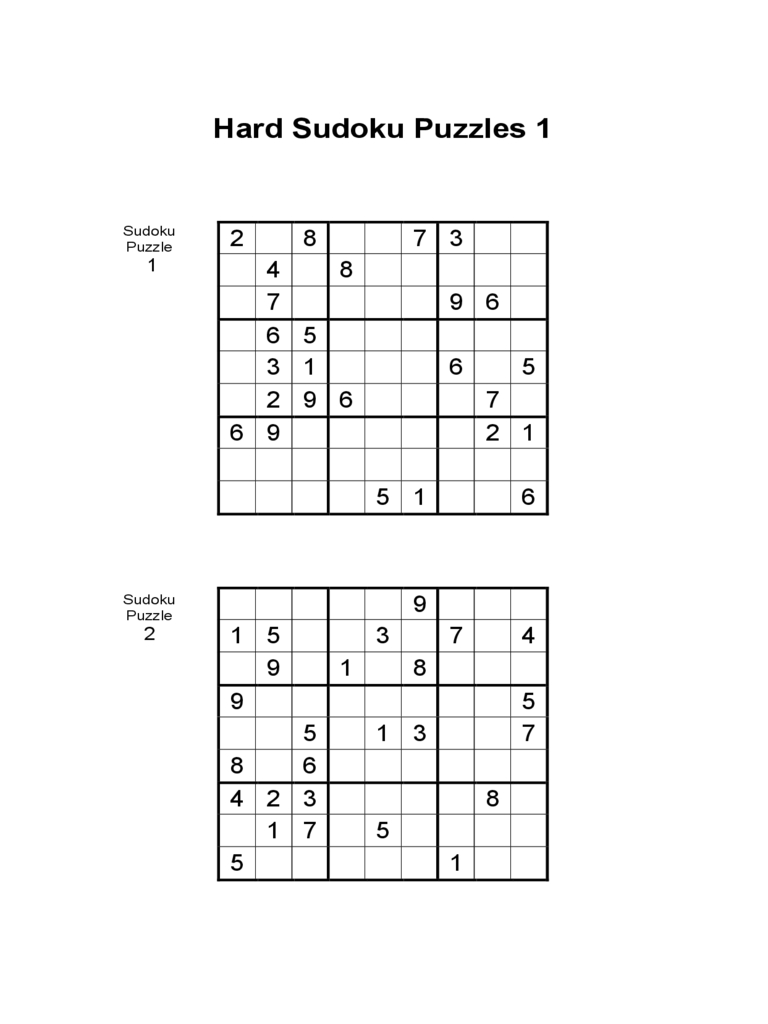 Printable Sudoku Grids - 2 Free Templates In Pdf, Word, Excel Download | Printable Sudoku Forms