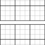 Printable Sudoku Grids   Have Fun Anytime | Printable Blank Sudoku Forms