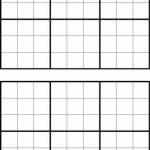 Printable Sudoku Grids   Have Fun Anytime | Printable Blank Sudoku Template