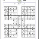 Printable Sudoku Is A Great Way To Practice Math! These Free Pdfs | Free Printable Sudoku Instructions