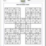Printable Sudoku Is A Great Way To Practice Math! These Free Pdfs | Printable Irregular Sudoku