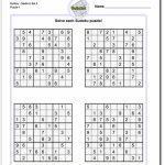 Printable Sudoku   Kleo.bergdorfbib.co | 4 Printable Sudoku Medium Level Sudoku
