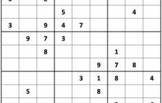 Printable Sudoku | Printable Medium Sudoku Sheets