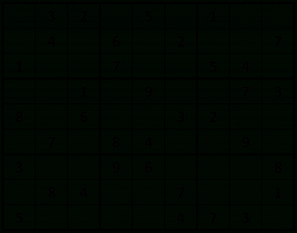 Printable Sudoku | Printable Sudoku 4 Square Easy