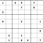 Printable Sudoku | Printable Sudoku For Seniors