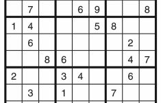 Printable Sudoku Games Adults
