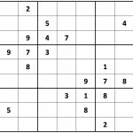Printable Sudoku | Printable Sudoku Puzzles Medium