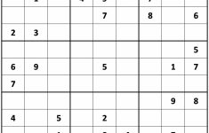 Printable Sudoku Samurai Easy