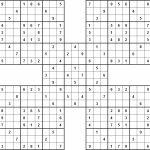 Printable Sudoku | Printable Sudoku Samurai Puzzles