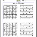 Printable Sudoku Puzzle | Ellipsis | Printable Sudoku Puzzles Difficulty 4