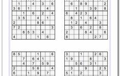 Printable Sudoku Variants