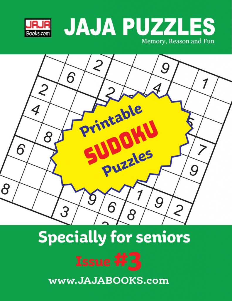 Printable Sudoku Puzzles. Issue #3Jaja Books - Issuu | Printable Sudoku Memory