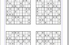 Printable Sudoku Puzzles | Math Worksheets | Sudoku Puzzles, Math | Printable Sudoku Puzzles Uk