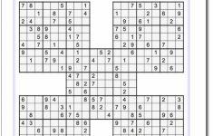 Printable Sudoku Medium 6 Per Page