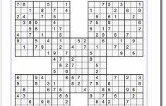 Sudoku Printable Medium 4 Per Page