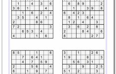 The Printable Sudoku Puzzle Site