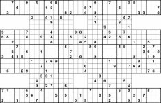 Printable Sudoku | Sudoku Online Printable Hard