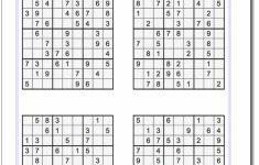 Printable Sudoku Pdf Hard