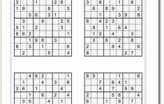 Printable Sudoku With Solutions