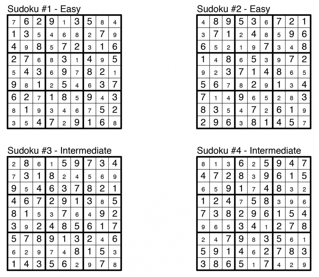 Puzzle Solutions: Issue 1: Aug. 23, 2013 – The Observer | Printable Sudoku And Solutions