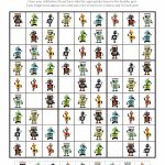 Robot Sudoku Puzzles {Free Printables}   Gift Of Curiosity | Sudoku Printable 3X3