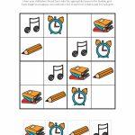 School Sudoku Puzzles {Free Printables}   Gift Of Curiosity   Printable Children's Sudoku Free