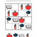 School Sudoku Puzzles {Free Printables}   Gift Of Curiosity | Printable Sudoku For Kindergarten