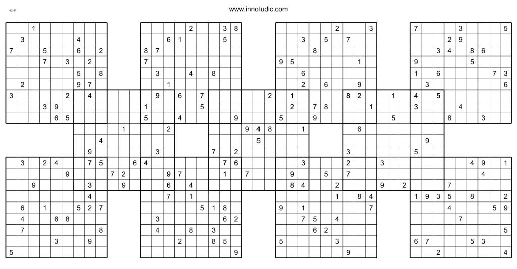 Shogun | Printable Hyper Sudoku