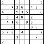 Solving Sudoku With Sas/iml | The Sas Training Post | 5 Star Sudoku Printable
