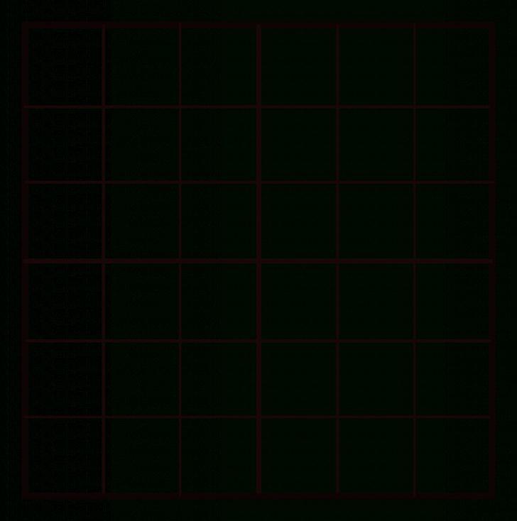 Printable Sudoku Blank Puzzle Form
