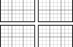 Sudoku Blank Template – Under.bergdorfbib.co | Printable Sudoku Sheets Blank