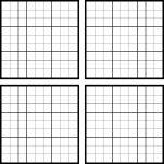 Sudoku Blank Templates   Canas.bergdorfbib.co | Printable Blank Sudoku Forms