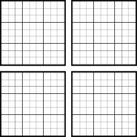 Sudoku Blank Templates   Canas.bergdorfbib.co   Printable Blank Sudoku Template