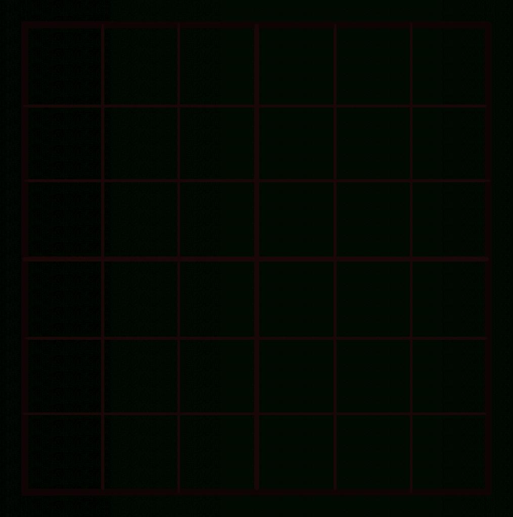 Sudoku Blanks - Under.bergdorfbib.co | Printable Sudoku Forms