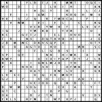 Sudoku: Einstein Level | Printable Alphabet Sudoku